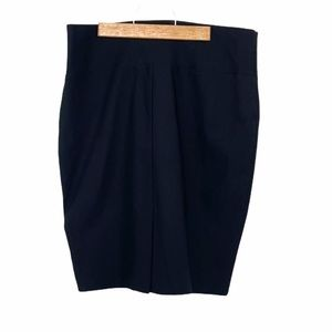 Suzy Shier Structured black pencil skirt elastic